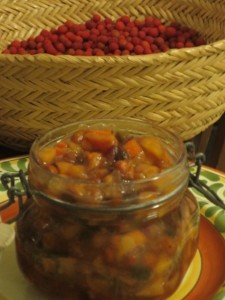 Madrone Persimmon Chutney